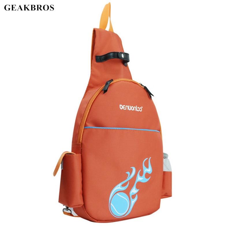 Tennis Backpack Badminton Bag for 2pcs Racket Waterproof Nylon Outdoor Sports Bag Accessories Camping Cycling Climbing Bag