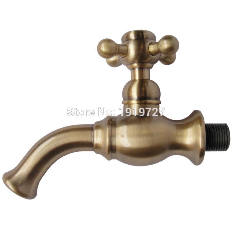 Vidric nouveauté haute qualité économie d'eau 100% en laiton massif Bibcock bec robinet de remplissage seulement eau unique robinet froid avec croix