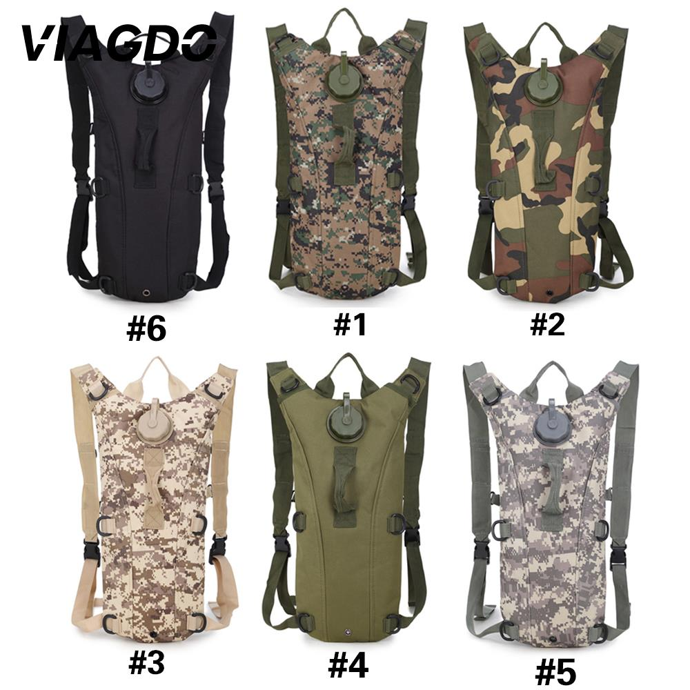 Tactical Backpack 3L Military Nylon Hydration Water Bag Waterproof Bladder Bag For Outdoor Camping Cycling Hiking Climbing