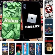Jogo TOPLBPCS Robloxes Soft black Caixa Do Telefone para Samsung A10 20s 71 51 10 s 20 30 40 50 70 80 91 A30s 11 31