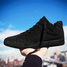 Men Casual Shoes Breathble Canvas Shoes