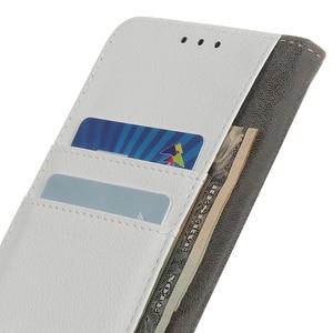 Image 5 - الليتشي فليب بو الجلود حامل للبطاقة فتحات محفظة غطاء حقيبة لجهاز LG الإبرة 5/الإبرة 4/W30 W10 G8 G8S Thinq k40 K50 K12 ماكس K12 رئيس Q60 X الطاقة 3 V40 Thinq V50 Thinq 5G