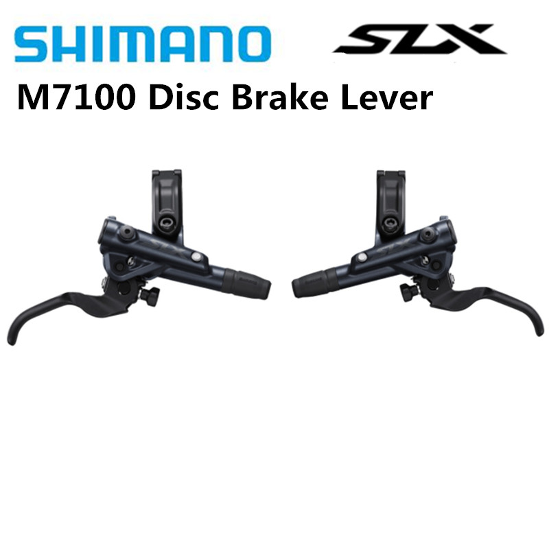 SHIMANO SLX M7100 Hydraulic Disc Brake Lever I SPEC EV Clamp Band Left And Right BL M7100|Bicycle Brake| |  - title=