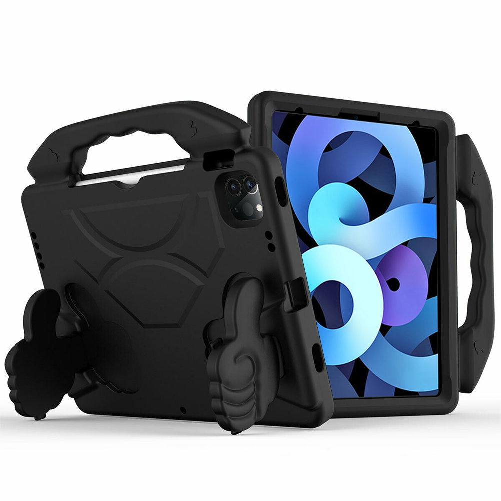 Black Other for iPad Air 4 Case 2020 A2316 A2324 EVA Safe Kids Handle Stand Tablet Case Cover