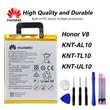Original Huawei HB376787ECW phone battery For honor V8 KNT-AL10 KNT-TL10 KNT-UL10 3500mAh