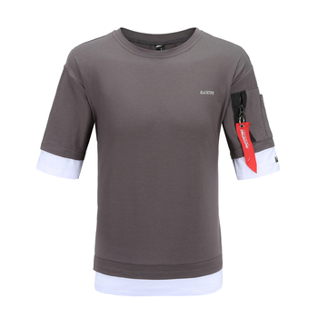 2020 new Tshirt men half sleeve o-neck men   5