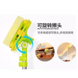Image 5 - Kính Thiên Văn Cao Cửa Sổ Mút Lau Rửa Kính Chổi Cây Lau Nhà Dùng Cho Giặt Windows Bàn Chải Sạch Windows