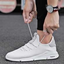 Новинка; Мужская обувь; Модная дышащая обувь из сетчатого материала;