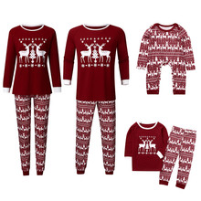 Одинаковые рождественские пижамные наборы для всей семьи; Рождественский комбинезон для новорожденных; комбинезон для папы, мамы и ребенка; пижамы; одежда для сна