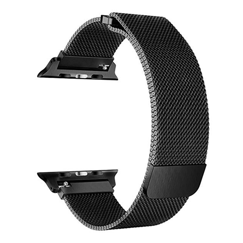 Suitable For Apple Iwatch2/3/4 Of Watch Band Magnetic Sucker Stainless Clean Steel Breathable Milan Nice, Nizza Watch Strap