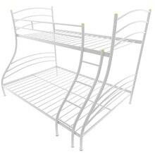 Кровать металлическая Глория (Белый , Металл, Белый , 900х1900 мм/1200х1900 мм) МилСон