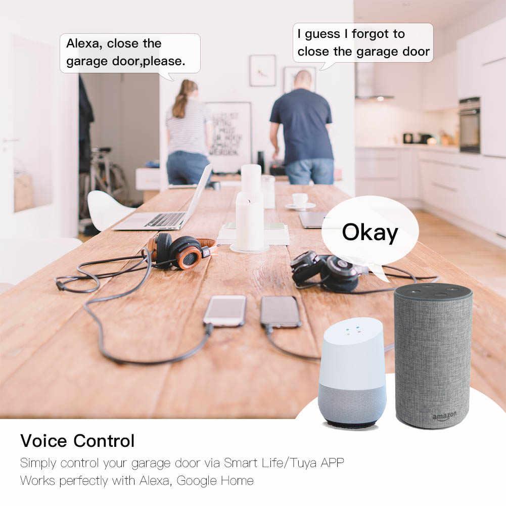 WiFi akıllı garaj kapısı denetleyicisi akıllı yaşam APP uzaktan açık yakın monitör ile uyumlu Alexa Echo Google ev hayır Hub gerektirir