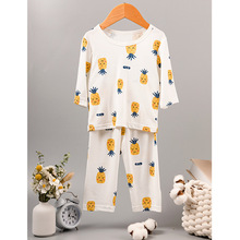 Boy Sleepwear Teenagers Pajamas-Set Nightgown Kids Clothes Girl Baby Cartoon Summer New
