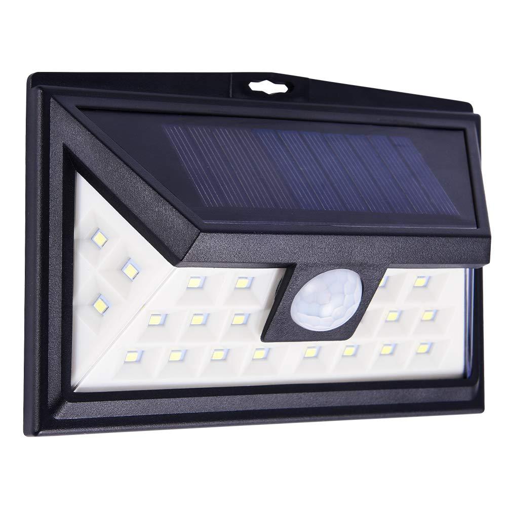 New Year 3 Modes 24 LED Solar Motion Sensor Light Outdoor Garden Lights For Yard Deck Garden Stair
