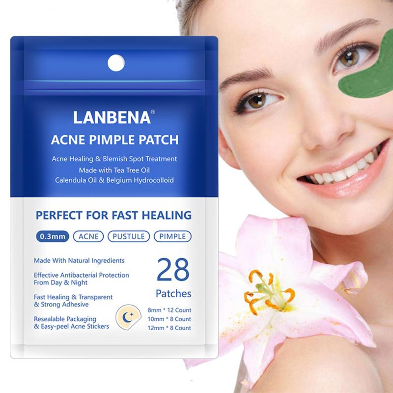 LANBENA Acne Pimple Patch Invisible Acne Removal Can Absorb Effectively Acne Master Face Mask Skin Care Pimple Patch TSLM1