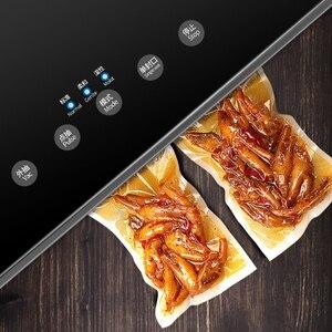 Вакуумные пищевые уплотнители XIAOMI Mijia, кухонный упаковщик, в комплекте 10 пакетов, бытовая пищевая вакуумная упаковка