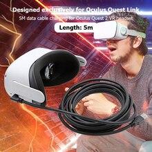 5M Data Line Oplaadkabel Voor Oculus Quest 2 Link Vr Headset Kabel Usb 3.0 Type C Transfer USB A naar Type C USB3.2 Gen1 Kabel