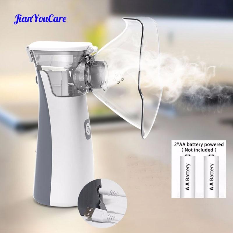 Medical Portable Silent Nebulizer Mini Handheld Inhaler Inhalator For Kids Adult Atomizer Nebulizador Mesh Asthma Nebulizadores