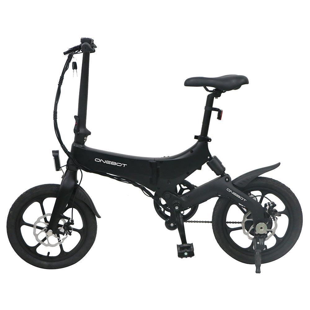 ONEBOT S6 Folding Electric Bike 250W Motor Max25km/h Display full view LCD 120kg 36V/6.4Ah 18.5KG 16 inch