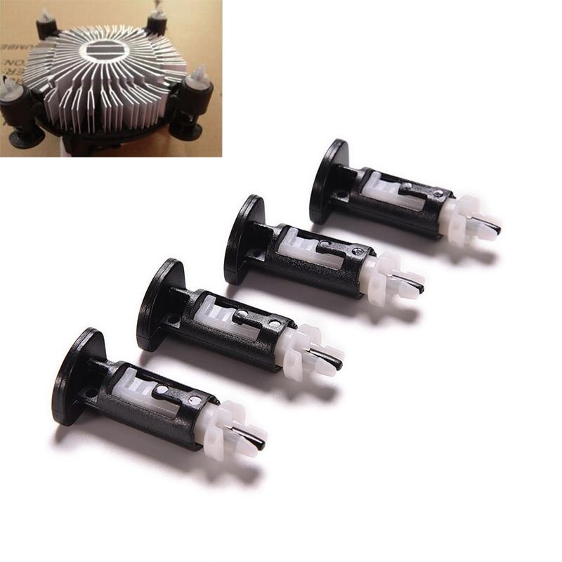 8PCS LGA 775 CPU Heatsink Mount Pin Plastic Push Screw Cooler Cooling Fan Fastener For Intel Socket