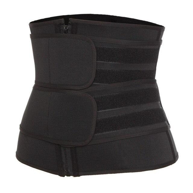 Waist Trainer Body Shaper Neoprene Sweat Shapewear Women Workout Trimmer Belt Corset Slimming Sheath Belly Reducing Shaper 5