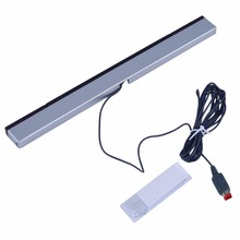 цена на Replacement Infrared TV Ray Wired Remote Sensor Bar Reciever Inductor for Nintendo for Wii for Wii U Console Hot Promotion