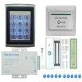 Система контроля допуска к двери, Электрический магнитный дверной замок, карта контроля доступа, пароль для двери, домашняя система безопас...
