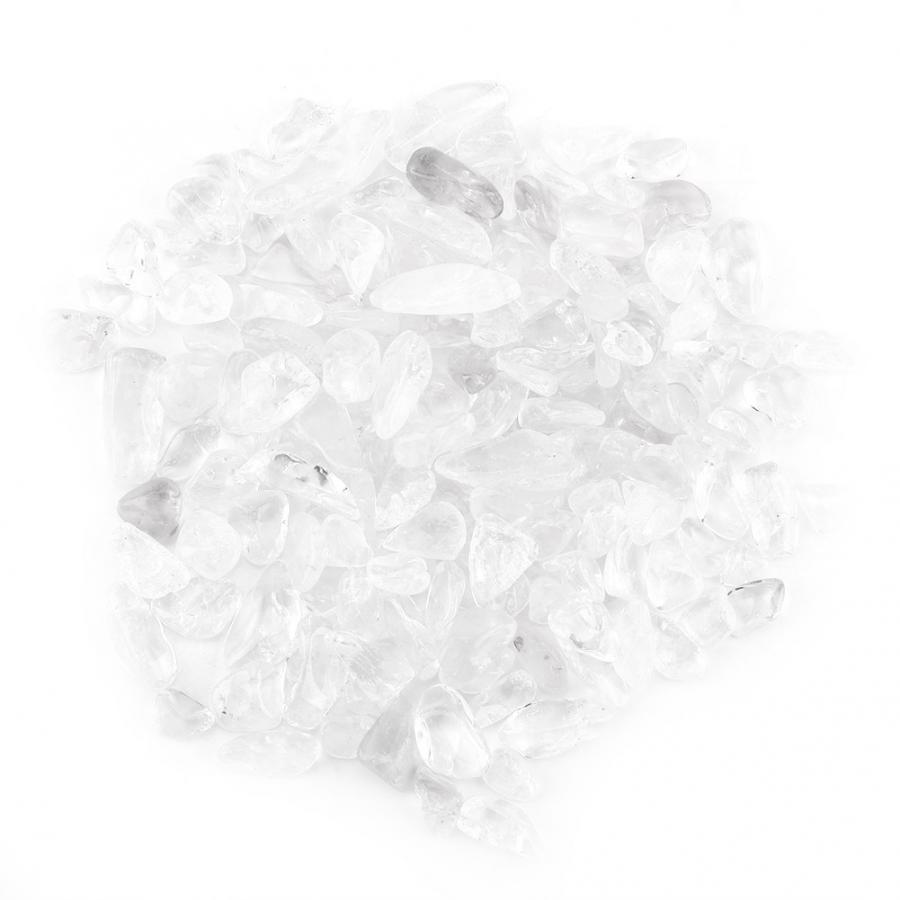 Crushed Pink Screened,and Magnetically Cleaned Tumbled Stone Chips Crushed Natural Crystal Quartz Pieces Crystal Stone