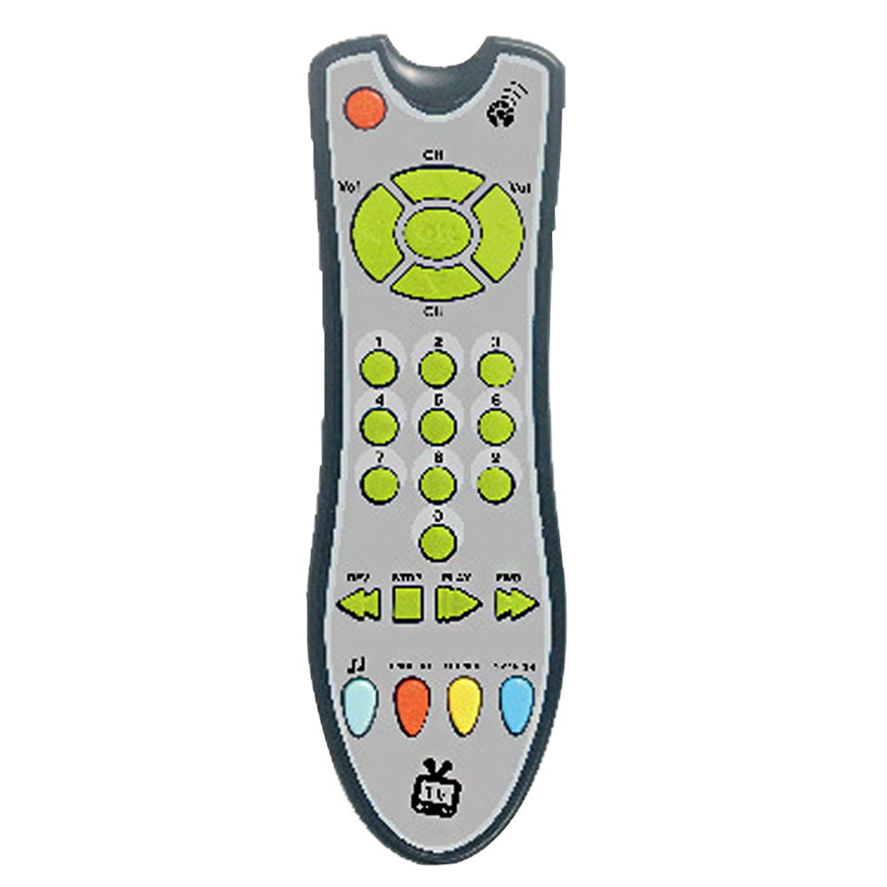 Early Educational Electric TV Remote Control Music Gift Multifunctional Mobile Phone Plastic Baby Toys Numbers Learning Machine