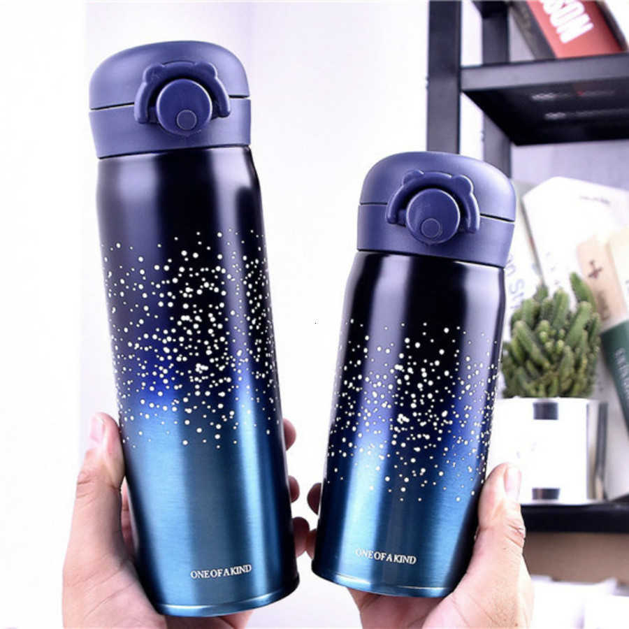 350/500 Ml 304 Stainless Steel Air Dingin Termos Vacuum Flask Portable Vacuum Insulated Kelas Olahraga Musim Dingin Mendaki Termos Panas kopi