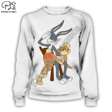 Hot men women harajuku hoody Bugs Bunny/Pokemon/Teddy Bear print 3d sweatshirt hoodies outdoors plus size S-XXL Drop Shipping