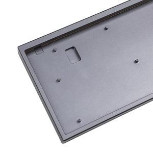 Image 5 - Алюминиевый чехол с ЧПУ для печатной платы YMD75 84, полный комплект, латунная пластина с подсветкой RGB для механической клавиатуры 84