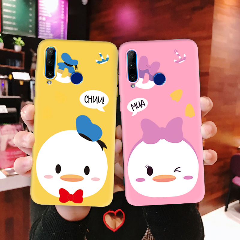 For <font><b>Huawei</b></font> <font><b>P30</b></font> <font><b>Case</b></font> Multi Color TPU Silicone Cover For <font><b>Huawei</b></font> <font><b>P30</b></font> <font><b>Lite</b></font> Phone <font><b>Case</b></font> Cover Cute Chick For <font><b>P30</b></font> Pro Protect Back <font><b>Case</b></font> image