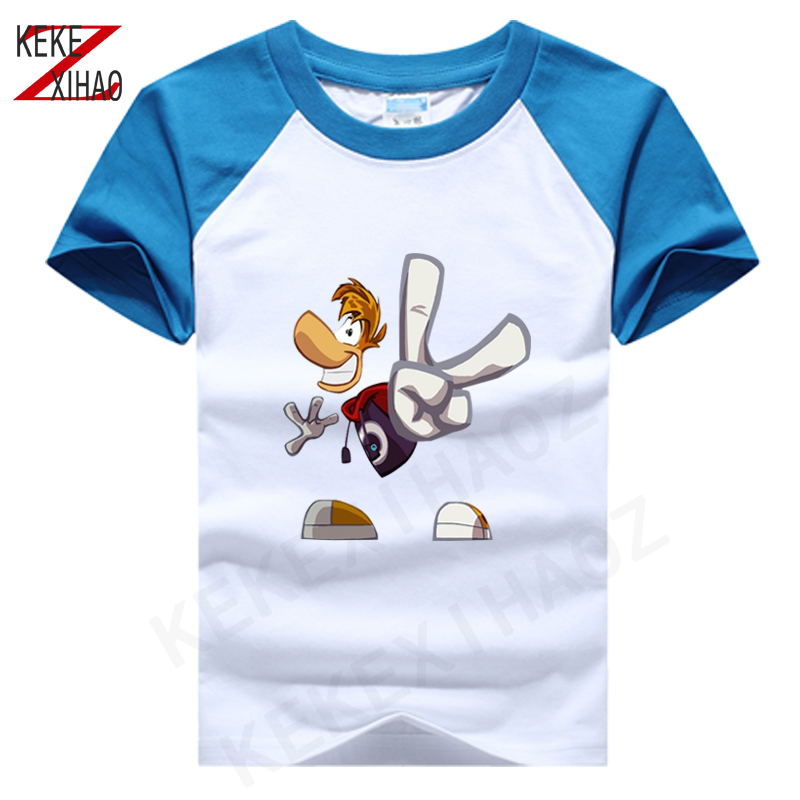 Children Clothing T-Shirt For Boys Fashion T Shirt Teen Girl rayman legends Cotton Tops Short Sleeve Boy Kids Clothes Tshirts image