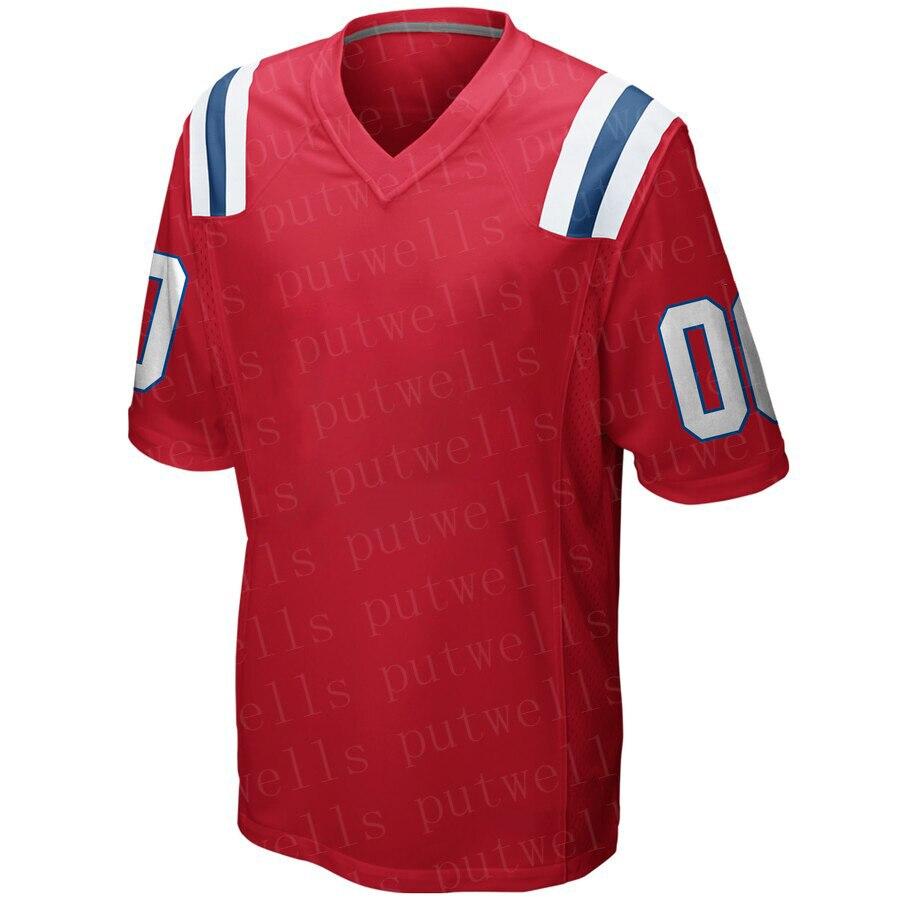 Men Game 2019 American Football New England Sport Fans WearTom Brady Brandin Cooks Danny Amendola Randy Moss Bruschi Jerseys