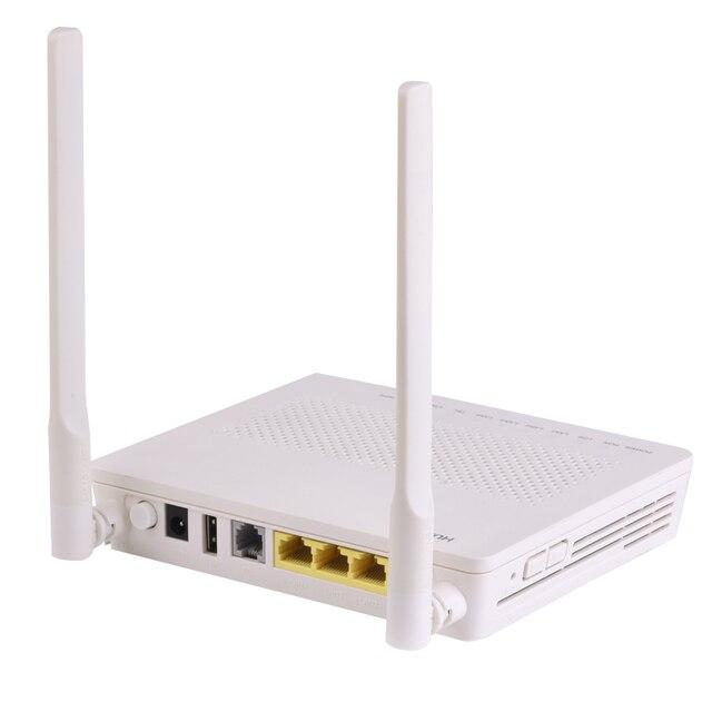 Original hua wei eg8141a5 gpon onu ftth modem roteador 1ge + 3fe 1tel wifi com software inglês mesma função que hg8546m