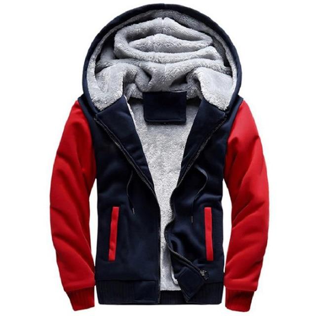 2021 Newset Men Coat Jacket Outwear Winter Slim Hoodie Warm Hooded Tracksuits Stylish Fashion Design Bursting Drop Ship 5XL 2