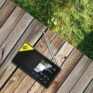 Image 3 - Przenośny Bluetooth 5.0 Radio cyfrowe DAB/DAB + i odbiornik FM akumulator lekka biuro w domu Radio