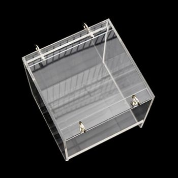 Deluxe Bird Bath Cage Adjustable Hanging Upgraded Large with Clear View Supplies 1