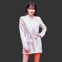 Autumn Coat New Fashion 2019 Women Notched Full Sleeve Color