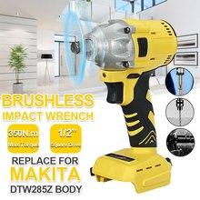 18V Cordless Brushless Impact Wrench 1/2