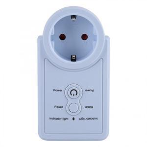 Image 2 - חכם GSM תקע לשקע חכם מתג שקע חשמל תקע שקע withTemperature חיישן SMS פקודת בקרת האיחוד האירופי Plug