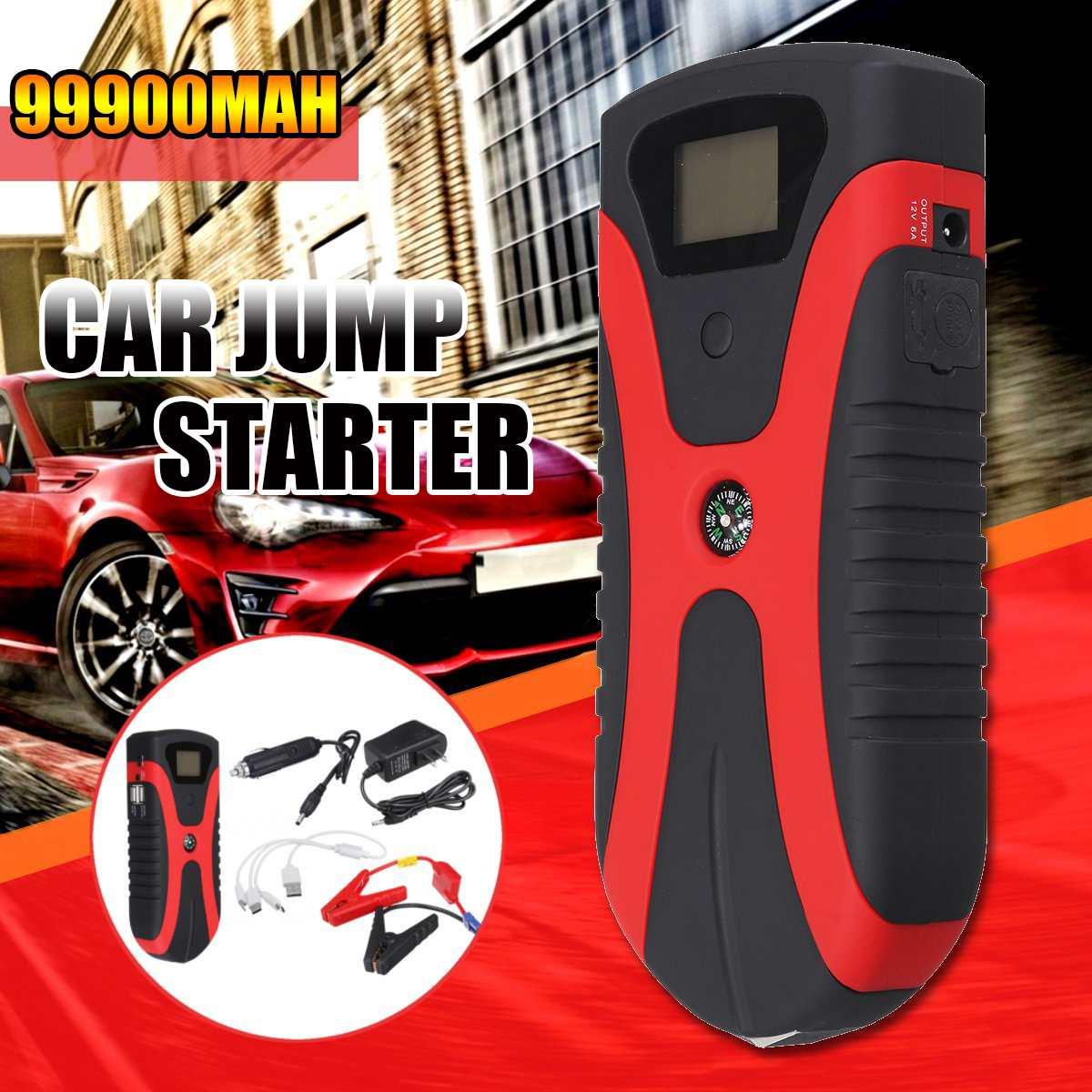180A Tragbare Multi Funktion Power Auto Starthilfe Notfall Licht Tragbare Auto Batterie Booster Ladegerät Mit USB schnelle lade