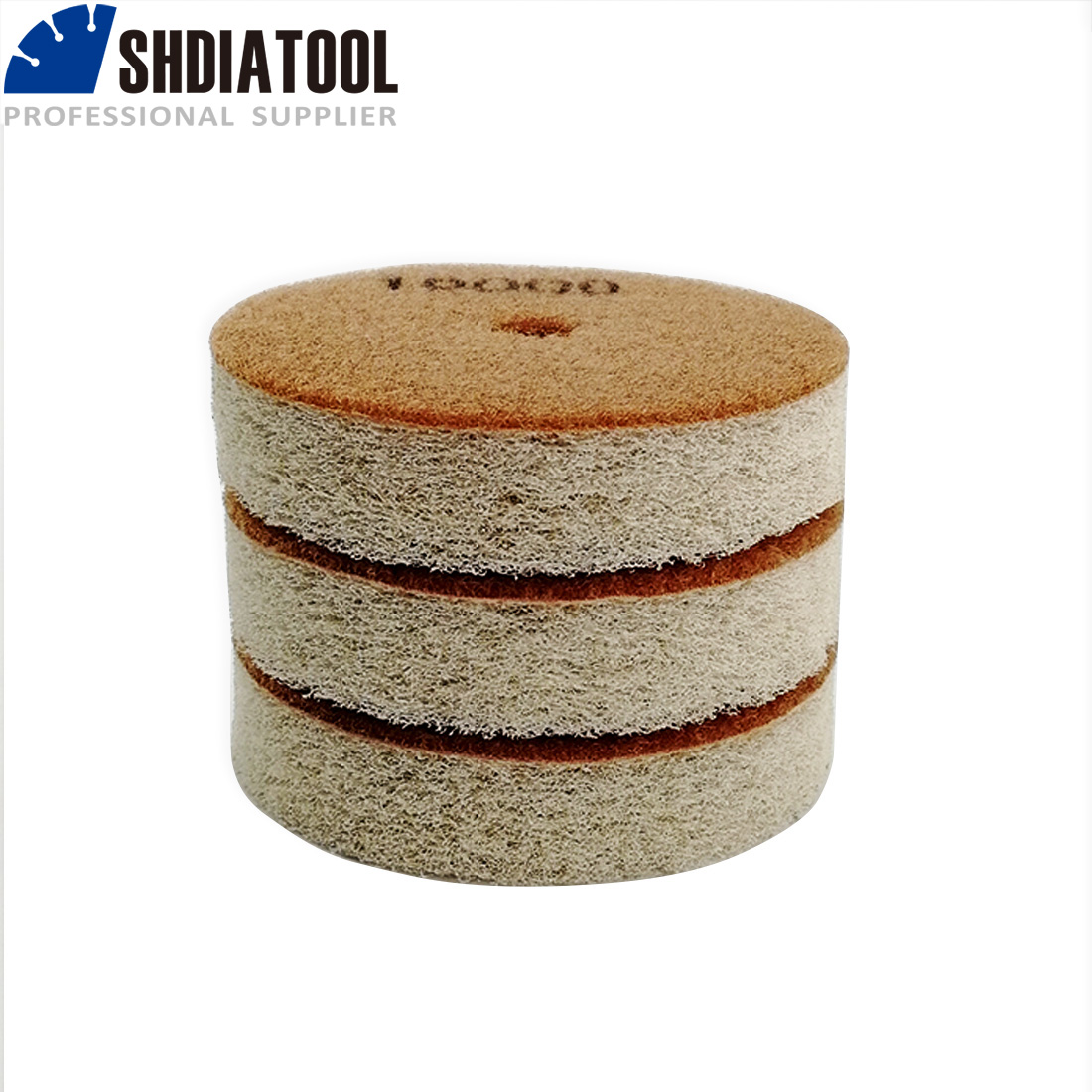 almofadas de polimento diâmetro 4 polegada disco