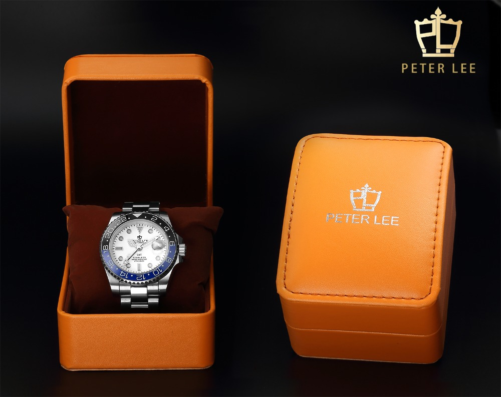 H49bdaa9e2e1b4b098e4801a57448f09ai Best Watches For Men   PETER LEE Automatic Watch   Classic Ceramic bezel luxury daydate 40mm mechanical men watches noctilucous stainless steel rose gold men automatic watch