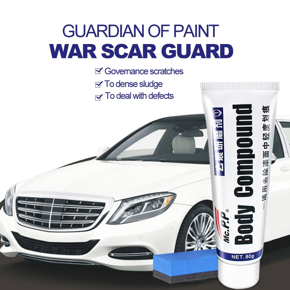 Car Scratching Remover Wax Auto Body Compound Polishing Grinding Paste Paint Paste Repair Agent Care Car Scratch Repair Kits
