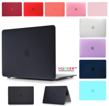 Laptop Case For Apple MacBook Air Pro Retina 11.6 12 13.3 15.4 inch for macbook New Air 13 Pro 13 15 inch with Touch Bar 2018 ID