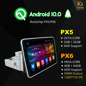 "Image 2 - Ownice k3 k5 k6 1280*720 10.1 ""Android10.0 Rotatable 1Din 2 דין אוניברסלי GPS Navi רכב סטריאו נגן רדיו 4G 360 פנורמה SPDIF"
