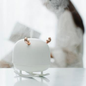 New Xiaomi Sothing Deer Air Humidifier USB Cable Powered Mini Portable Air Purifier With Ambient Night Light Ultrasonic Diffuser 1