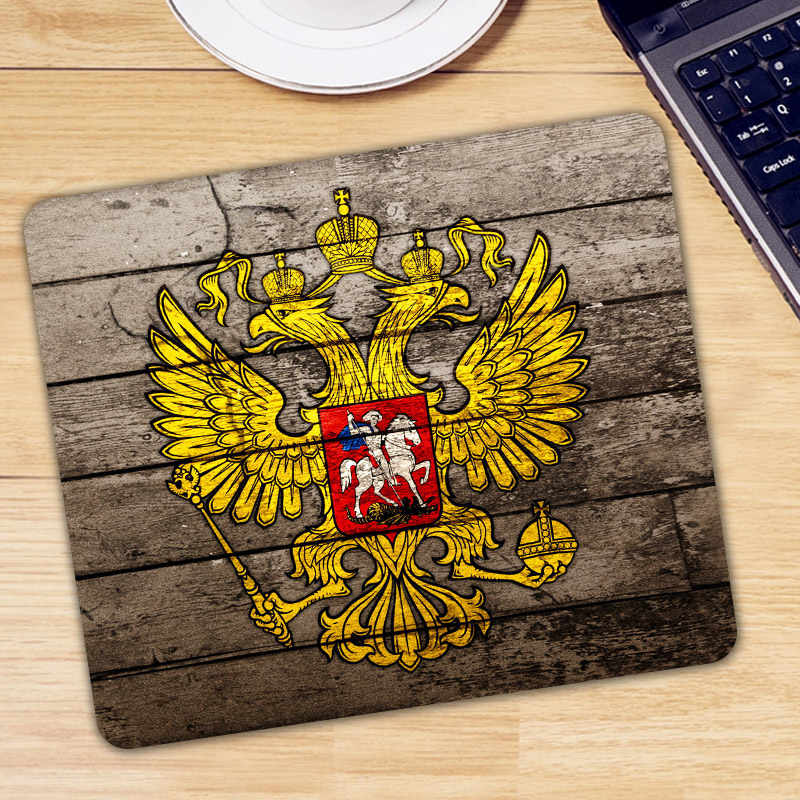 Rusia Bendera Mouse Pad Pad untuk Mouse Komputer Notebook Mousepad Keren Game Padmouse Gamer Keyboard Mouse Mat